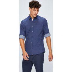 Medicine - Koszula Basic. Szare koszule męskie na spinki marki MEDICINE, l, z bawełny, z klasycznym kołnierzykiem, z długim rękawem. W wyprzedaży za 59,90 zł.