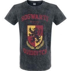 T-shirty męskie z nadrukiem: Harry Potter Hogwarts Quidditch T-Shirt ciemnoszary