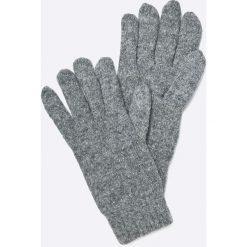 Gant - Rękawiczki. Szare rękawiczki męskie marki GANT, z bawełny. W wyprzedaży za 159,90 zł.