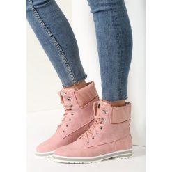 Buty zimowe damskie: Różowe Traperki Wondrous Women