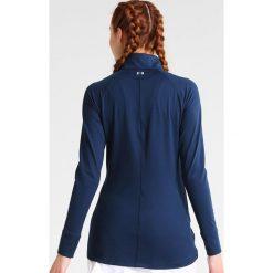 Under Armour ZINGER ZIP Bluzka z długim rękawem academy. Niebieskie bluzki longsleeves marki Under Armour, l, z elastanu, sportowe. W wyprzedaży za 201,75 zł.