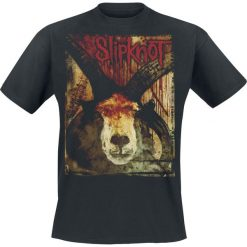 T-shirty męskie: Slipknot Goat and Blood T-Shirt czarny