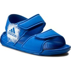 Sandały adidas - Alta Swim C BA9289 Blue/Ftwwht/Ftwwht. Czerwone sandały chłopięce marki Born2be, z materiału, z otwartym noskiem, na zamek. Za 129,00 zł.