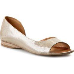 Sandały damskie: Sandały MACIEJKA - 00554-24/00-1 Beż Lakier