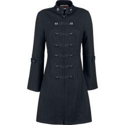 Jawbreaker Military Jacket Płaszcz damski czarny. Niebieskie płaszcze damskie wełniane marki Reserved. Za 365,90 zł.