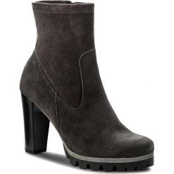 Botki LASOCKI - MOKKA-08 Szary. Szare buty zimowe damskie Lasocki, z materiału, na obcasie. W wyprzedaży za 125,00 zł.