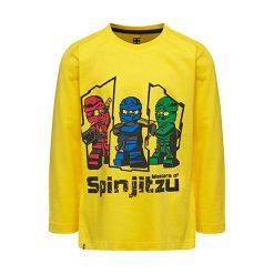 """T-shirty chłopięce z długim rękawem: Koszulka """"M-72172"""" w kolorze żółtym"""
