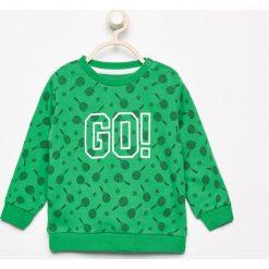 Odzież niemowlęca: Wzorzysta bluza - Zielony