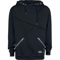 Bluzy męskie: Vixxsin Rag Hood Bluza z kapturem czarny