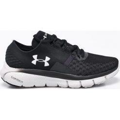 Under Armour - Buty Speedform Fortis. Czarne buty do biegania damskie marki Under Armour, z gumy. W wyprzedaży za 269,90 zł.