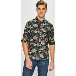 Pepe Jeans - Koszula Keith. Szare koszule męskie Pepe Jeans, l, z bawełny, z klasycznym kołnierzykiem, z długim rękawem. Za 339,90 zł.