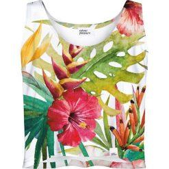 Colour Pleasure Koszulka damska CP-035 160 biało zielona r. XS/S. T-shirty damskie Colour pleasure, s. Za 64,14 zł.