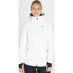 Odzież damska: Kjus WOMEN DUANA JACKET Kurtka narciarska white