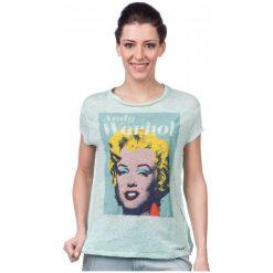 Pepe Jeans T-Shirt Damski Sunny S Turkusowy. Niebieskie t-shirty damskie marki Pepe Jeans, s, z jeansu. W wyprzedaży za 129,00 zł.