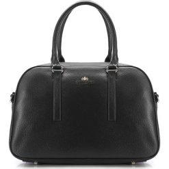 Torebka damska 85-4E-455-1. Czarne torebki klasyczne damskie Wittchen, w paski, ze skóry. Za 489,00 zł.