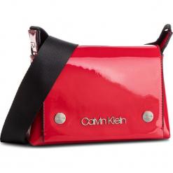 Torebka CALVIN KLEIN - Snap Sml Flap Crossbody P K60K604932 640. Czerwone listonoszki damskie Calvin Klein, ze skóry ekologicznej. Za 399,00 zł.