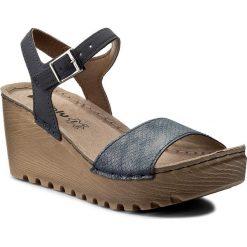 Rzymianki damskie: Sandały INBLU – GT012644 Granatowy