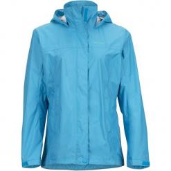 Marmot Wm's Precip Jacket Oceanic L. Niebieskie kurtki damskie softshell Marmot, l. W wyprzedaży za 379,00 zł.