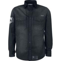 Five Finger Death Punch EMP Signature Collection Koszula ciemnoszary. Czarne koszule męskie na spinki marki Leonardo Carbone, s, z materiału, z długim rękawem. Za 164,90 zł.