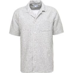 Koszule męskie na spinki: Soulland BRANDT BOWLING Koszula white melange