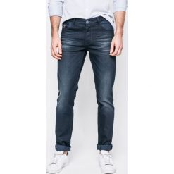U.S. Polo - Jeansy. Niebieskie jeansy męskie slim U.S. Polo, z bawełny. W wyprzedaży za 269,90 zł.