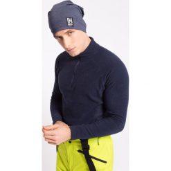 Odzież termoaktywna męska: Bielizna polarowa męska BIMP002z – granatowy melanż