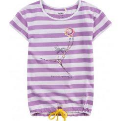 Sukienki dziewczęce z falbanami: Tunika z krótkim rękawem i troczkiem dla dziewczynki 9-13 lat