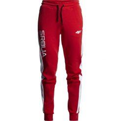 Spodnie dresowe damskie: Spodnie dresowe damskie Serbia Pyeongchang 2018 SPDD700 – czerwony wiśniowy