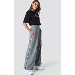 Cheap Monday Spodnie Margin - Grey. Szare spodnie z wysokim stanem Cheap Monday. Za 222,95 zł.