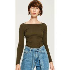 Bluzki damskie: Bluzka Basic - Khaki
