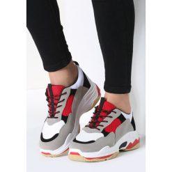 Biało-Czerwone Sneakersy Too Young. Czerwone sneakersy damskie marki KALENJI, z gumy. Za 89,99 zł.