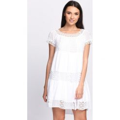Sukienki: Biała Sukienka Hold On Tight