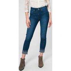 Tommy Hilfiger - Jeansy Venice. Niebieskie jeansy damskie marki TOMMY HILFIGER, z bawełny. W wyprzedaży za 399,90 zł.