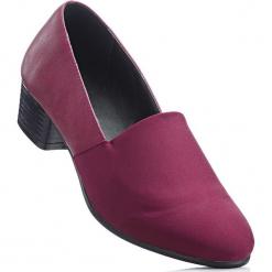 Wygodne czółenka z pianką YouFoam bonprix bordowy. Czerwone buty ślubne damskie bonprix, na obcasie. Za 89,99 zł.