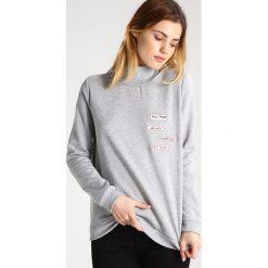 Bluzy rozpinane damskie: Vila VIMATS Bluza light grey melange