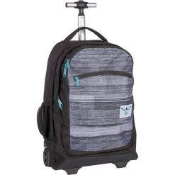 """Torebki i plecaki damskie: Walizka-plecak """"Wheely"""" w kolorze czarno-szarym – 33 x 52 x 19,5 cm"""