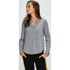 Vero Moda - Bluzka. Niebieskie bluzki z odkrytymi ramionami marki Vero Moda, z bawełny. Za 119,90 zł.