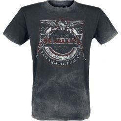 Metallica Seek And Destroy T-Shirt czarny/szary. Czarne t-shirty męskie z nadrukiem Metallica, l, z klasycznym kołnierzykiem. Za 114,90 zł.