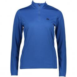 Koszulka funkcyjna w kolorze niebieskim. Niebieskie t-shirty damskie marki Völkl, ze stójką. W wyprzedaży za 130,95 zł.