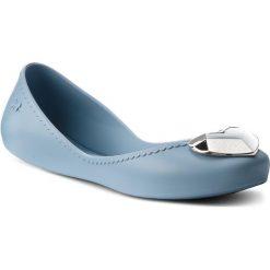Baleriny ZAXY - Start Romance III Fem 82531 Lt Blue 01307 BB285012 02064. Niebieskie baleriny damskie marki Zaxy, z materiału. W wyprzedaży za 129,00 zł.