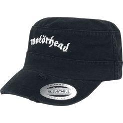 Czapki z daszkiem męskie: Motörhead Destroyed Logo Army Cap Czapka wojskowa czarny