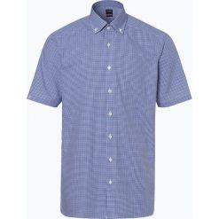 OLYMP Luxor modern Fit - Koszula męska niewymagająca prasowania, niebieski. Brązowe koszule męskie non-iron marki QUECHUA, m, z elastanu, z krótkim rękawem. Za 149,95 zł.