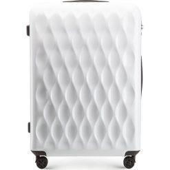 Walizka duża 56-3H-553-88. Białe walizki marki Wittchen, z gumy, duże. Za 219,00 zł.