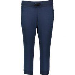 Bryczesy damskie: Spodnie dresowe w kolorze granatowym