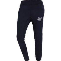 Spodnie dresowe męskie: SIKSILK ZONAL TRACK PANTS Spodnie treningowe navy/white