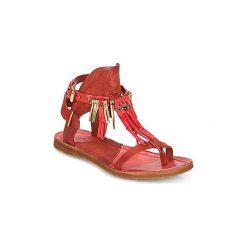Sandały Airstep / A.S.98  RAMOS. Czerwone sandały damskie Airstep / A.S.98. Za 511,20 zł.