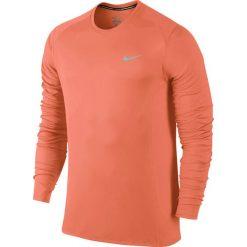Odzież sportowa męska: koszulka do biegania męska NIKE DRI-FIT MILER LONGSLEEVE / 683570-803 – koszulka do biegania męska NIKE DRI-FIT MILER LONGSLEEVE