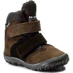 Buty zimowe chłopięce: Śniegowce MRUGAŁA – Iwo 7181-38 Khaki