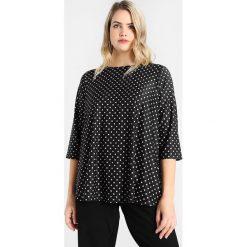 T-shirty damskie: Dorothy Perkins Curve SPOT PRINTED TEE Tshirt z nadrukiem black