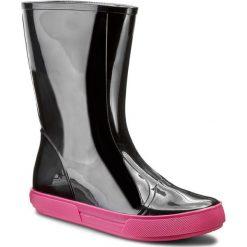 Kalosze FURLA - Candy 837015 S Y906 PL0 Onyx. Czarne buty zimowe damskie Furla, z materiału. W wyprzedaży za 259,00 zł.